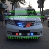 本田艾力绅Elysion安装美国VS Signal V7-1 PLUS增强版警报器及VS SIGNAL GL332A 2套中网爆闪灯警灯