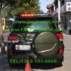 丰田兰德库路泽安装美国VS SIGNAL V82警报器GL332A中网LED爆闪灯12只灯组+2套DS332A管灯