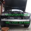 宝马BMW X3安装美国VS V7-1警报器及GL316A中网爆闪灯