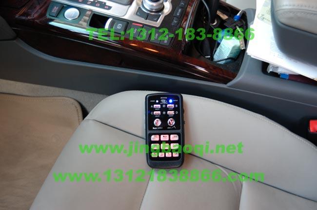 奥迪A6L安装美国VS SIGNAL V71及V7WK无线遥控警报器GL332AMC变色爆闪警灯实拍