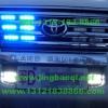 丰田兰德库路泽安装美国VS Signal V7警报器V7-2 V72及GL332A GL316A中网LED爆闪灯警灯实拍图集