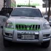 丰田霸道警车安装美国联邦信号道奇Legend LPX长排警灯及美国VS SIGNAL V7-2警报器实拍图集