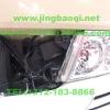丰田柯斯达考斯特安装警灯警报器实拍图集-美国VS Signal V7-1 PLUS (V71增强版)警报器GL332A2中网爆闪灯