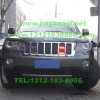 JEEP大切诺基安装美国VS SIGNAL V7WK无线遥控警报器及GL316AMC变色中网爆闪灯警灯实拍图集