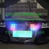 奥迪A6L安装美国VS SIGNAL V7系列V7-1警报器GL332A中网爆闪警灯-长凯先锋北京警灯警报器中国总代理图集
