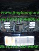 奔驰S500安装美国VS SIGNAL GL332A中网LED爆闪灯警灯