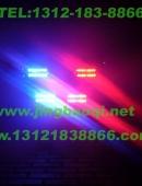 2012款奥迪A6L安装美国VS SIGNAL V72PLUS增强版警报器及2套GL332A共16只中网警灯爆闪灯实拍图集