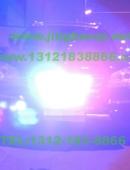 奔驰GL越野车安装美国VS SIGNAL GL332A中网LED爆闪灯警灯10灯组