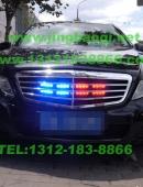 奔驰E安装美国VS Signal V6-1(V61)警报器及GL332A中网爆闪灯警灯