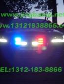 奥迪A8L安装美国VS V72警报器及GL332A中网爆闪警灯美国VS SIGNAL