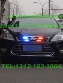 福特蒙迪欧安装美国VS SIGNAL V6-1警报器及GL316A中网暴闪警灯S201螺旋管爆闪灯实拍照片集