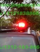Sentry红色警车消防车专用卤素旋转吸顶警灯美国联邦信号道奇