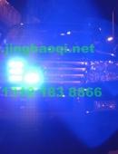 丰田兰德酷路泽安装美国VS  SIGNALV7-2警报器及VS SIGNALGL332A中网LED爆闪灯NOVA EPS X404螺旋管爆闪灯