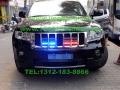 切诺基安装美国VS Signal GL332A/GL316A中网灯爆闪灯警灯
