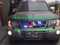 三菱V73安装美国VS SIGNAL  V7-1警报器及联邦道奇VISTA LED长排警灯爆闪灯
