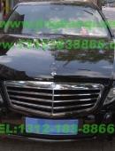 奔驰E300L安装美国VS SIGNAL V7-1 300W警报器